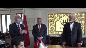Kuveyt'in Ankara Büyükelçisi Al-Zawawi, Midyat'ta