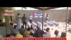 Midyat Kent Konseyi'nden Kamerun'a Ramazan Yardımı