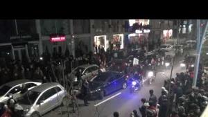 Midyat'ta AK Partililerden kutlama