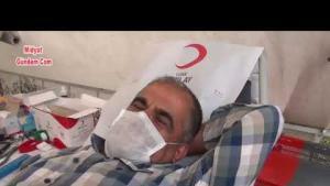 Midyat'ta gönüllüler kan bağışını sürdürdü